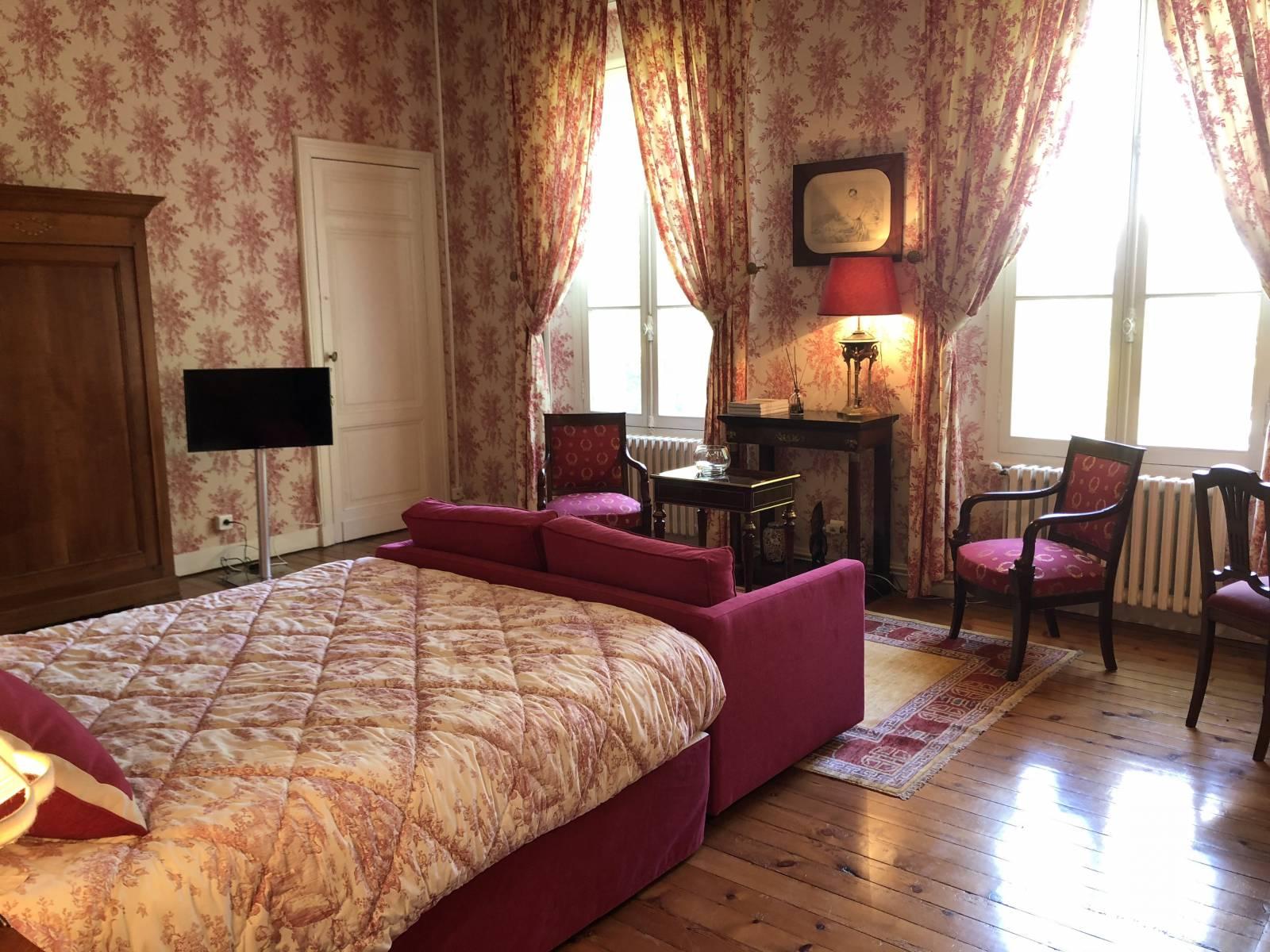 Location chambre d 39 h te de luxe bordeaux le domaine du pacha - Location chambre bordeaux ...
